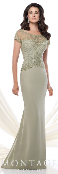 Montage by Mon Cheri Spring 2015 - Style No. 115964 montagebymoncheri.com #eveninggowns  #motherofthebride
