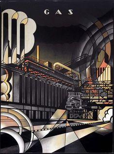 dieselfutures: Art Deco Murals from the Niagara... | .mattfraction