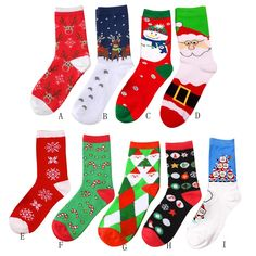6 Pairs Christmas Socks Xmas Santa Fluffy Adult Unisex Warm Novelty Stocking UK