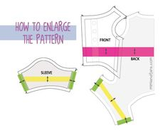 how to enlarge pattern