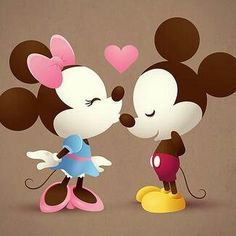 Cute if you love Disney characters Mickey and Minnie❤️ Disney Dream, Disney Love, Disney Magic, Disney Stuff, Disney E Dreamworks, Disney Pixar, Disney Characters, Disney Mickey, Disney Parks