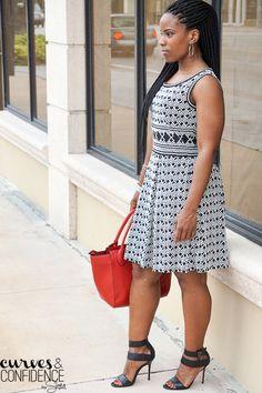 Max Studio Printed Dress
