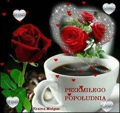 """Képtalálat a következőre: """"good morning"""" Good Morning Funny, Good Morning Images, Gifs, Beautiful Roses, Christmas Ornaments, Holiday Decor, Tableware, Anime, Pictures"""