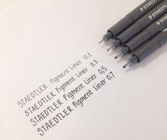 My Favourite Bullet Journal Supplies - christina77star.co.uk