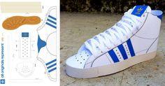 Il y a quelques jours, nous vous parlions des baskets en papercraft, à l'image du modèle Onitsuka Tiger – Mexico 66. Ce WE, on remet ça avec un superbe template Adidas, qui fera fondre de bonheur tous les sneakers addictsLire la suiteAdidas Paper Sneaker