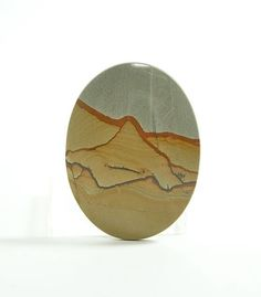 Picture Jasper Stone Cabochon Owyhee Succor by FenderMinerals,