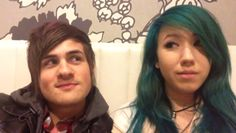 They are one of my favorite YouTube couples!!! Kalel Cullen, WonderLandWardrobe, Kalel Kitten, WatchUsLive&Stuff, Anthony Padilla