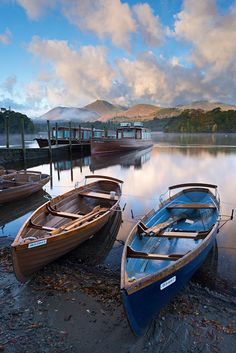 Box Canvas Print (other products available) - Boats on Derwent Water near Friars Crag, Keswick, Lake District, Cumbria, England. Autumn (October) - Image supplied by AWL Images - inch Box Canvas Print made in the UK Cumbria, Cool Places To Visit, Places To Go, English Countryside, Travel Images, Belle Photo, The Great Outdoors, Photos, Pictures