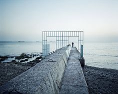 Rafal Milach from Black Sea of Concrete: Theodosia Black Sea, Concrete, Stairs, Beach, Water, Photography, Outdoor, Image, Beautiful