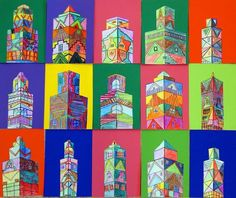 Groep home design trends 2017 - Home Trends Middle School Art, Art School, 7th Grade Art, Ecole Art, School Art Projects, Art Lessons Elementary, Elements Of Art, Art Lesson Plans, Art Classroom