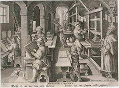 De monniken deden maanden over om boeken waar wetenschappelijk en filosofische theorieën over te schrijven, als he fout ging moesten ze helemaal opnieuw beginnen, bij de boekdrukkunst. In de 17e eeuw konden ze de boeken snel kopiëren, ze noemden het 'de drukpers'.