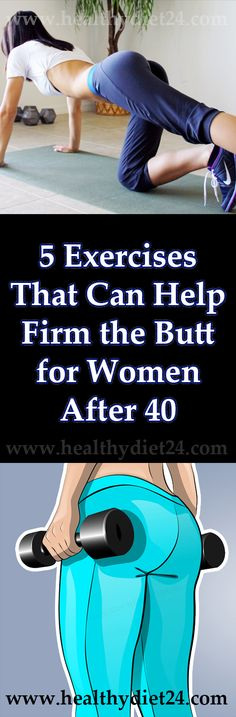 5 Exercises That Can Help Firm the Butt for Women After 40