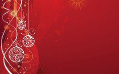 HD Red Christmas Backgrounds