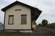 MAKING THE MARROW - History and Photos - A trip to the abandoned Mertztown Station on the Allentown - Reading branch of the Reading Railroad in Pennsylvania