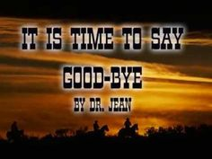 Time to Say Good-bye - YouTube