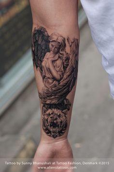 Roman Angel Tattoo