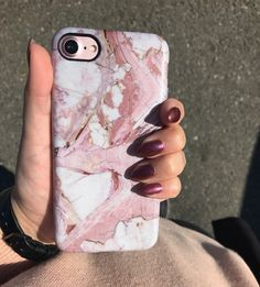 Matching  Rose Marble Case for iPhone 6/6s, 6 Plus/6s Plus, 7 & 7 Plus from Elemental Cases