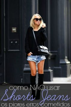 There are 3 tips to buy victoria tornegren, shoes, bag, sunglasses. Casual Street Style, Estilo Casual Chic, Casual Chic Style, Shorts Jeans, Denim Skirt, Creative Shirts, Boyfriend Shorts, Jeans Slim, Mode Inspiration