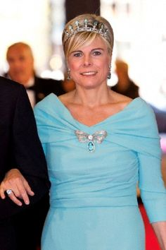 Princess Laurentien of The Netherlands arrive at the Rijksmuseum dinner on the eve of her abdication in Amsterdam, The Netherlands, 29 April 2013