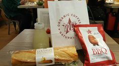 Lunch Pret a Manger