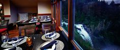Fine Dining at Salish Lodge & Spa overlooking the Snoqualmie Falls http://www.salishlodge.com/diningroom.php