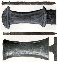 Behmer Type 3 Migration period swords.