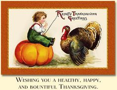 Selection of Thanksgiving cards at Traditions.  Love the vintage look.