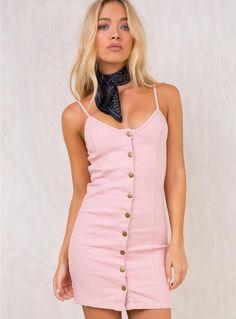 Acoustic Denim Dress