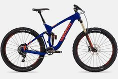 Marin Attack Trail 9 http://www.bicycling.com/bikes-gear/recommended/16-for-2016-the-best-new-mountain-bikes-of-2016/slide/7