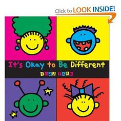 It's Okay To Be Different (2009)  By: Todd Parr  ISBN: 0316043478 $6.99 This is a good reference resource to use when you want to show children a visually stimulating book about how it is okay to be different. The book depicts various scenarios about being different and has pictures to go along with it. It would be a great book for younger children to learn about being different.
