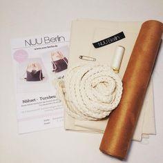 #nuu #nuuberlin #turnbeutelliebe #turnbeutelfüralle #handmade #nähset #alcantara #diy
