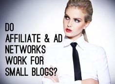 Do affiliate & ad networks work for small blogs? @Ashley at Dramatis Personae shares her monetization stats, finds surprising results