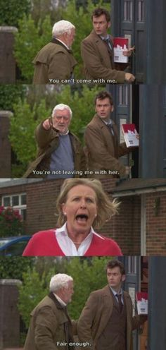 One of my favorite moments with Wilf and the Doctor