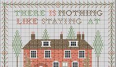 Jane Austen's house   gazette94: free cross-stitch pattern