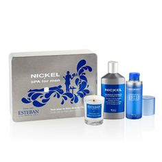 Coffret Spa For Men NICKEL #Christmas #Present #Soin #Beauté #Homme #BLue