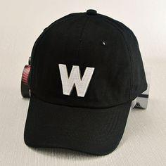 Stylish Simple Letter W Shape Applique Men's Hipsters Baseball Cap #men, #hats, #watches, #belts, #fashion