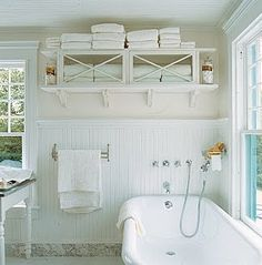 Photo Gallery In Website Idea for Lana Cottage Bathroom Storage Cabinet Create stylish storage for your bathroom This build it yourself shelving unit is a perfect way to make
