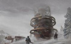 Finding the Lost Ruins, Kevin Jick on ArtStation at https://www.artstation.com/artwork/qPo2L