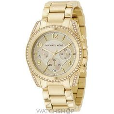 Ladies Michael Kors Chronograph Watch MK5166