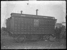 Circus caravans c. 1940s-1950s