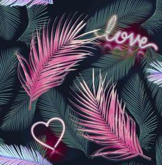 Graham & Brown Wallpaper   Neon Love Multi   106842 – WonderWall by Nobletts