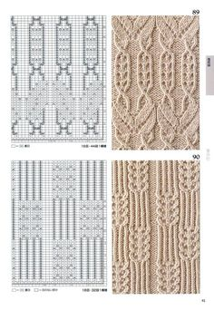 260 Knitting Pattern Book by Hitomi Shida 2016 — Yandex. Lace Knitting Stitches, Knitting Paterns, Cable Knitting, Knitting Charts, Knitting Designs, Knitting Projects, Card Patterns, Knit Patterns, Stitch Patterns