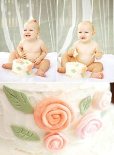 baby's first cake ~ blabla doll party theme {hostess with the mostess}