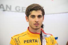 2016 GP2 racing driver.  Antonio Giovinazzi (ITA). Round 1 Barcelona, Circuit de Cataluna