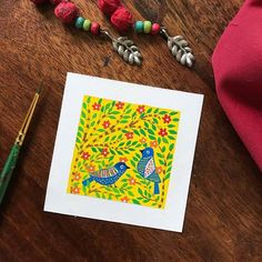 Disney Art Ideas Canvas Life 54 Ideas For 2019 Art Painting, Indian Art Paintings, Gond Painting, Scandinavian Folk Art, Madhubani Art, Buddha Art, Art Corner, Madhubani Painting, Buddha Art Drawing