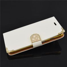 Diamond-Lizard-Leather-Flip-Credit-Card-Wallet-Case-Cover-For-Samsung-Galaxy-S4
