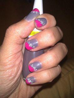 Mix color Color Mixing, Nail Art, Nails, Painting, Beauty, Fotografia, Finger Nails, Ongles, Painting Art