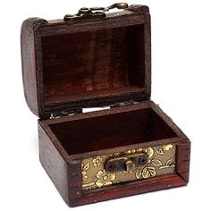 Vintage Flower Golden Wooden Jewelry Storage Box ($3.59) ❤ liked on Polyvore featuring home, home decor, jewelry storage, wood jewelry chest, vintage jewellery box, vintage jewelry box, wooden home decor and wood jewelery box