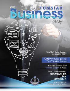 Tümsiad Business Bursa Özel Sayısı Kapak Çalışması
