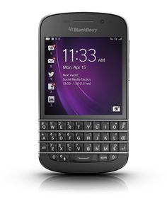 BlackBerry Q10 Smartphone Release - QWERTY Keyboard Features - US